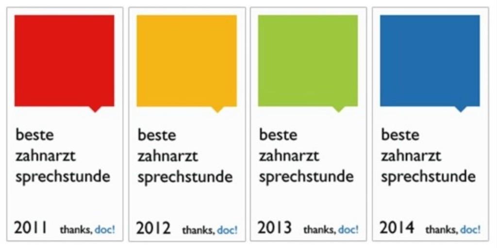 Zahnarztpraxis Mundgesund Carl Bernhardt Berlin thanks, doc! Bewertung